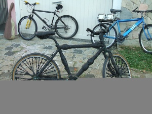 Bike de Jarbas Lopes em foto de paradavisual