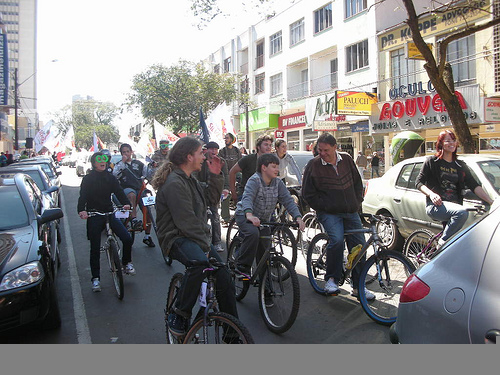 Bicicletada Guarapuava