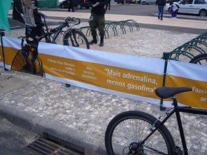 Inauguração bicicletário MON