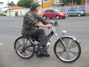 Originalidade na bicicletada