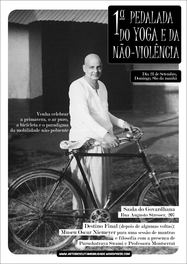 1ª Pedalada do Yoga e da Não-violência